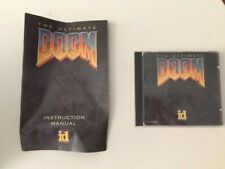 1994 Ultimate Doom CD-ROM Game for PC with Jewel Case & Manual Id Software