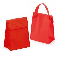 RED non Tessuto Cool Bag Small isolati pranzo COOLER TERMICO PICNIC Sandwich GHIACCIO
