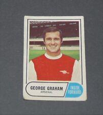 A & BC GUM CARD FOOTBALL ENGLAND 1969 GEORGE GRAHAM ARSENAL GUNNERS HIGHBURY