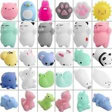 Defrsk 30 PZ Mochi Squishy Giocattoli Gatto SQUISHY KAWAII Mini Squishy Morbido Animali