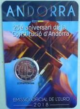 Andorra 2 Euro Gedenkmünze 2018 Verfassung CoinCard Euromünze commemorative coin