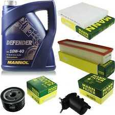 Motor oil 5L MANNOL Defender 10W-40 + Mann Filter For Nissan Almera, II N16 1.5