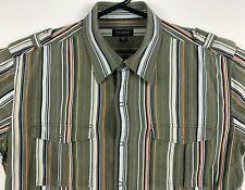 Colorado Men's Snap Button Up Shirt Size Large Short Sleeve
