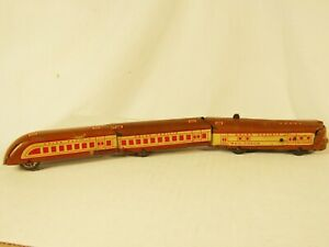 Vintage Marx M10000 Articulated Tin Litho Union Pacific 3-Piece Wind Up Train Se