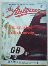 The AUTOCAR Magazine 14 Jul 1939 HRG SPORTS Road Tested FRENCH GRAND PRIX
