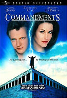 COMMANDMENTS (1997) NEW DVD FREE SHIPPING