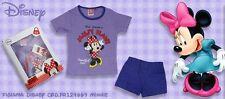 Disney Minnie Mouse - Pigiama Bambina 7/8 anni 100% Cotone