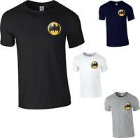Batman Logo T-Shirt,Superhero DC Comics The Dark Knight Joker Unisex Mens Top