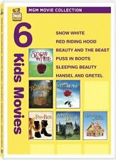 Snow White, Red Riding Hood, Beauty & The Beast, Puss In Boots, Sleepping ... +