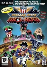 Freedom force vs the third reich + free dvd (neuf)