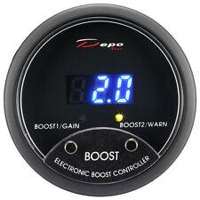 "Depo Racing 52mm 2"" Pro I-EBC Electronic Boost Controller Gauge Meter BAR/PSI"