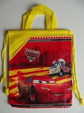 Drawstring Backpack/Library Bag - Cars