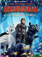 How to Train Your Dragon - The Hidden World DVD Jay Baruchel NEW