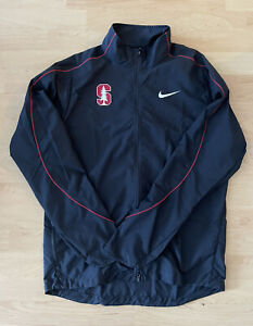 Nike Team Issued Stanford University Lightweight Jacket Made In USA Size Small