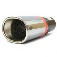 Tubo di Scarico Punta Posteriore Marmitta Cromo per Peugeot 106 206 207 306 309