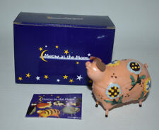 Harmony Ball Meow At The Moon Treasure Box Figurine - Pig - Thebe - Nib