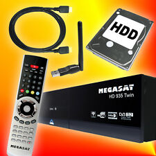 Megasat HD 935 Twin-Tuner 1000GB Festplatte Sat Receiver WLAN WiFi TV-Streaming