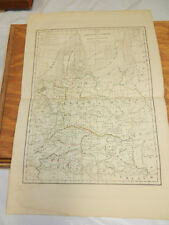 1830 Antique COLOR Map//ANCIENT GERMANY