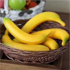 6stk Künstliche Bananen Obst Zuhause Dekor Kunststoff+Schaum Simulation Neue