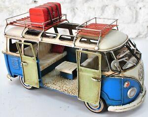 Tin toy Iron Crafts Classics Retro GT-FZ52 Bus office home decoration decor SALE