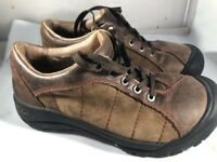 Keen Shoes XT 0806 Brown Leather Women Size 6 EU 36