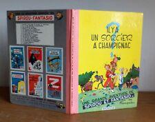 Spirou et Fantasio 1964 par A. Franquin dos rond rose pale Sorcier a Champignac