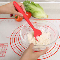 Silicone Kitchen Cake Cream Spatula Mixing Scraper Brush Butter Baking Tools HF
