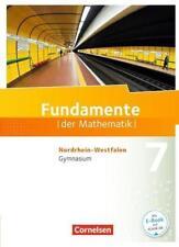 Fundamente der Mathematik 7. Schuljahr. Schülerbuch Gymnasium...