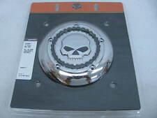 New Harley Davidson Skull & Chain Air Cleaner Trim Kit 61400021 Softail FLSTB