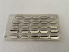 25PCS D-Sub DB25  Plug Socket PCB Board Mount Female Pin Connector