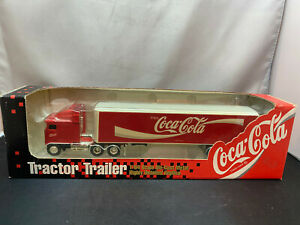 Ertl Coca Cola Coke COE Tractor Truck With Trailer 1/64 Scale Diecast