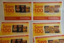 12 $1 Coupons for Contessa Frozen Seafood & Convenience Meal - Total Savings $12
