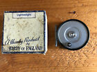 """Hardy LRH """"Lightweight"""" Fly Reel, RHW, Solid Drum with Box. Made in England."""