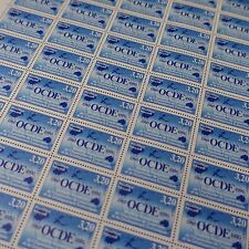 FEUILLE SHEET TIMBRE OCDE N°2673 x50 1990 NEUF ** LUXE MNH