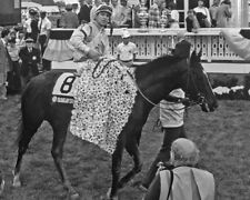 1989 Preakness Stakes SUNDAY SILENCE Glossy 8x10 Photo Poster Pat Valenzuela