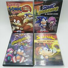 Adventures Of Sonic The Hedgehog And Underground DVD Lot 1993 1998 Tall Tails