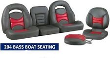 NEW LLEBROC MODEL 204 BASS BOAT SEATS 8PC KIT