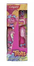 DreamWorks Trolls Poppy Colgate Battery Powered Toothbrush & Toothpaste Kids Set