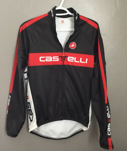 CASTELLI Fleece Lined JACKET Medium Cycle A