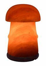 Champignon Forme Électrique Himalayen Sel Table Lampe Cristal Rock Naturel