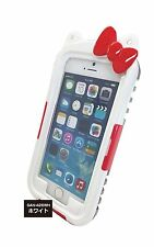 "Sanrio Japan Hello Kitty Waterproof Case for iPhone 6 (4.7"") - White"