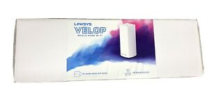 Linksys Velop Whole Home Intelligent Mesh Tri-Band Wi-Fi System (WHW0301)