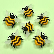 DRESS IT UP Buttons Bee Happy 9382 - Embellishments Bugs Honey Bees
