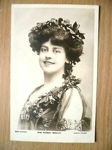 Real Photo Postcard- Theater Actresses MISS NORMA WHALLEY, No. 1044