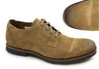 Timberland Men's Kendrick Cap Toe Medium Brown Suede Oxford Casual Shoes A1PI4