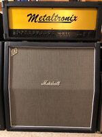 Lee Jackson Metaltronix M-1000 100-Watt Tube Amplifier, Modded Marshall Plexi !!