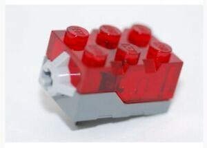 Lego Leuchtstein 2x3 rot