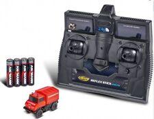 83066 Carson RC Elektro H0 Unimog U406 Feuerwehr 2.4G RtR 1:87 komplett NEU OVP
