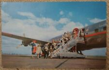 Aviation Postcard American Airlines DC-6