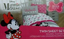 Disney Minnie Mouse Twin Sheet Set